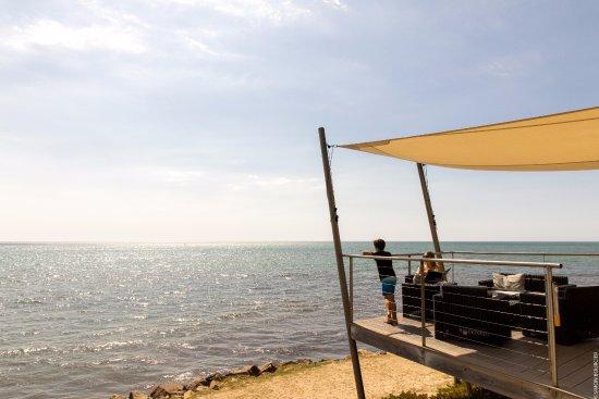 La Gueriniere, Frankreich: Vue sur l'océan Atlantique à l'hôtel Punta Lara.