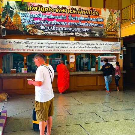 Phitsanulok, Tailandia: Scenes at Railway station and from train