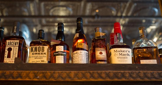Port Jervis, NY: Bourbon Selection at Fox N Hare Brewery