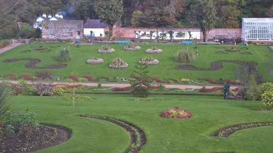 Kylemore, Irlande : Giardini