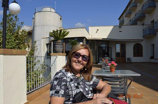 Caldes de Montbui, Spania: Un lugar interior con vista