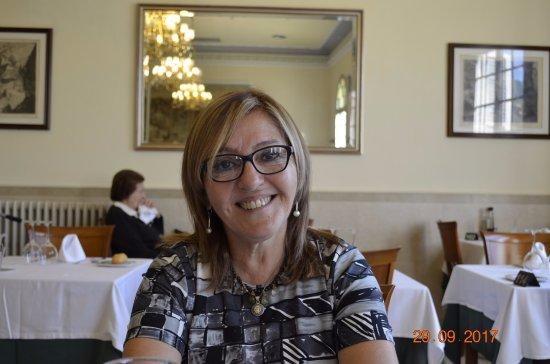 Caldes de Montbui, Spania: Hermoso lugar el comedor y la comida muy buena.
