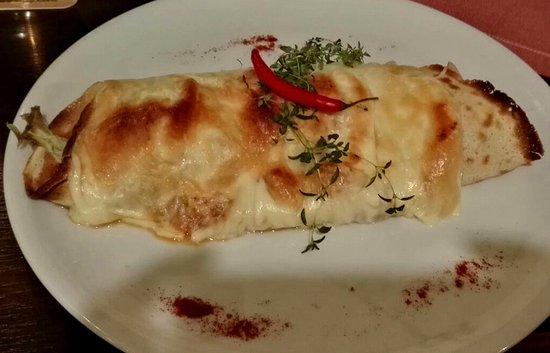 Swierklaniec, Polandia: Naleśnik z kurczakiem na ostro