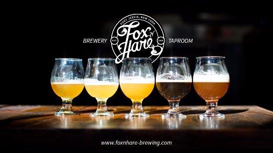 Port Jervis, Estado de Nueva York: Year-Round Beers at Fox n Hare Brewery