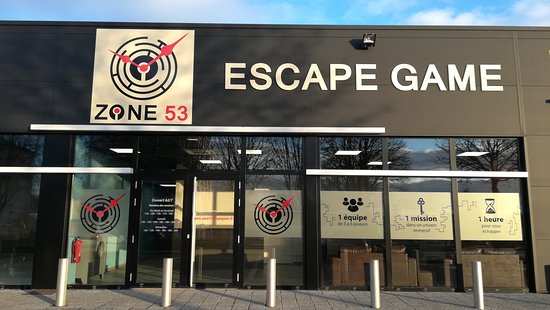 ‪ZONE 53 Escape Game‬