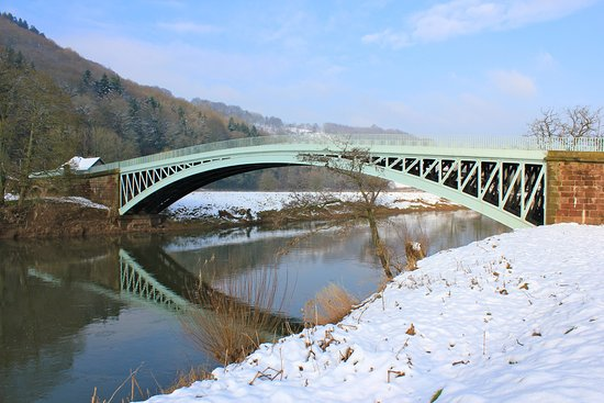 Beautiful Bigsweir Bridge, near Llandogo