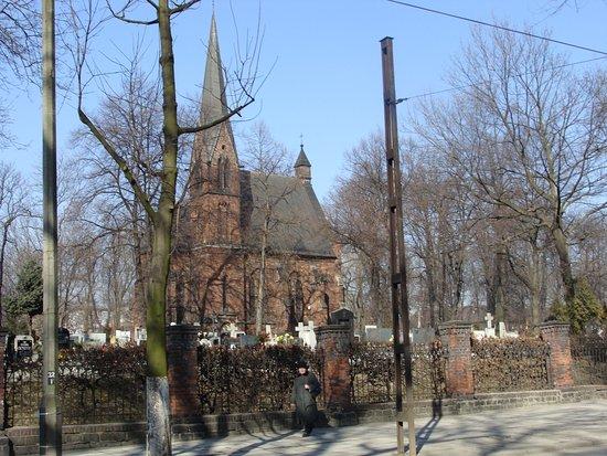 Bytom, Poland: Friedhofskapelle