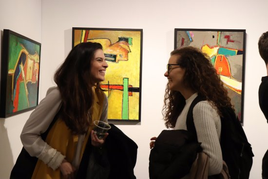 Agora gallery is a great place for art lovers to meetG