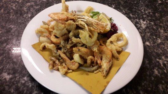 Recetto, Włochy: Gran fritto di pesce e crostacei