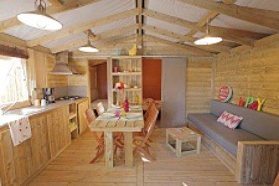La Plaine-sur-Mer, Francia: Intérieur Lodge