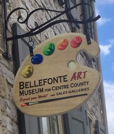 Bellefonte, PA: Art from around the corner and around the world! Free and open to the public