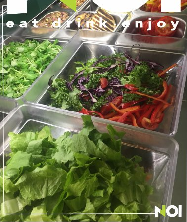 Dalla bottega da NOI escono verdure fresche di stagione e di ottima qualità.