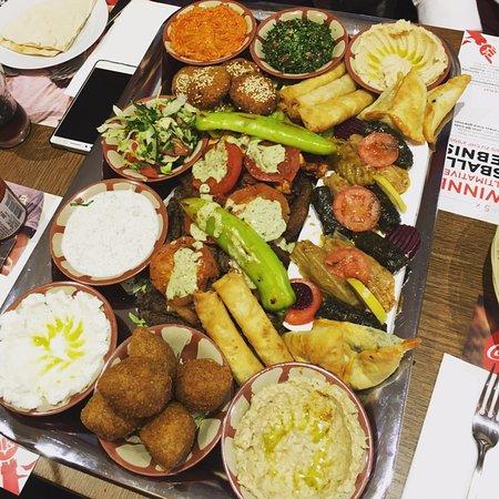 Yalla Habibi Mezze Plate (2 person)
