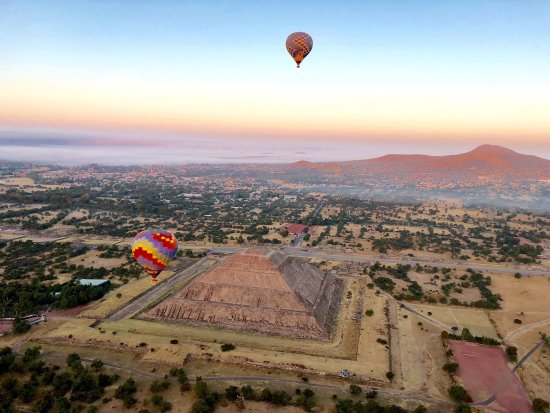 Globos Aerostaticos Teotihuacan