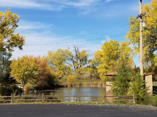 Oacoma, Dakota del Sur: pond area