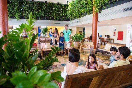 Suites Beach Park Resort: Recepção