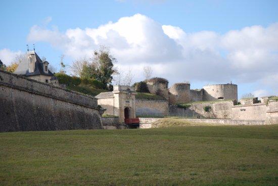 Blaye, Frankrijk: vue sur la citadelle