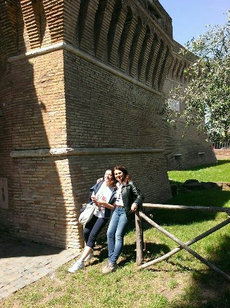 Ostia Antica, Italia: Castello di Giulio II visita guidata