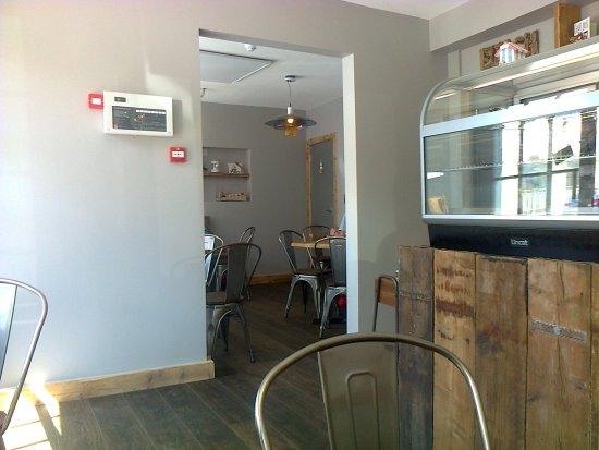 Highcliffe, UK: Inside the Cafe