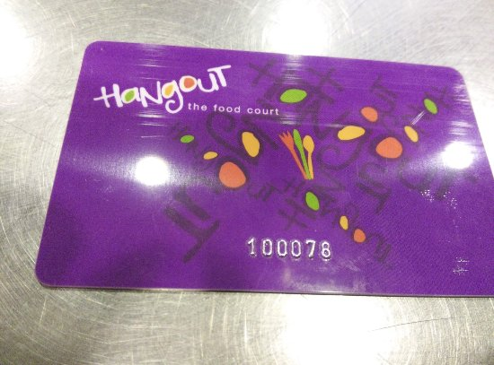 The Card - Picture of Hangout - Food Court, Kolkata