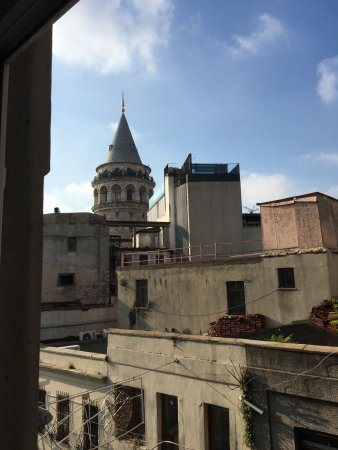 World House Istanbul: You can see one of the main city sights, Galata tower, from your window!