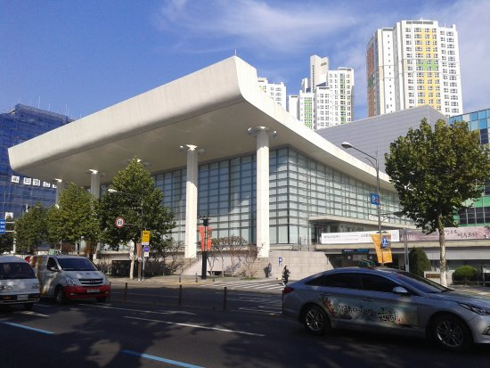 Daegu, Sydkorea: L'ancien Citizens Hall transformé en salle de concert