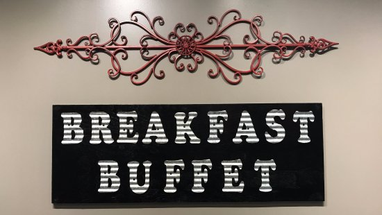 Allendale, MI: Breakfast buffet