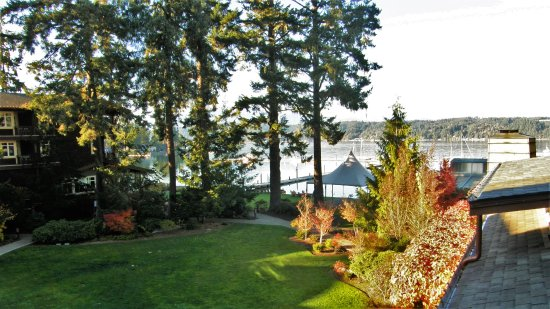 Union, WA: This was the view from my private balcony