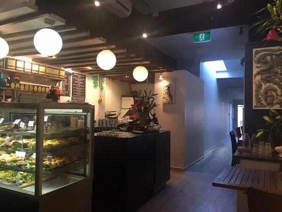 Devonport, Nueva Zelanda: Kitchen/counter view