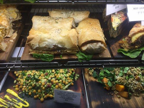 Devonport, Nueva Zelanda: Yummy pastries and sandwiches