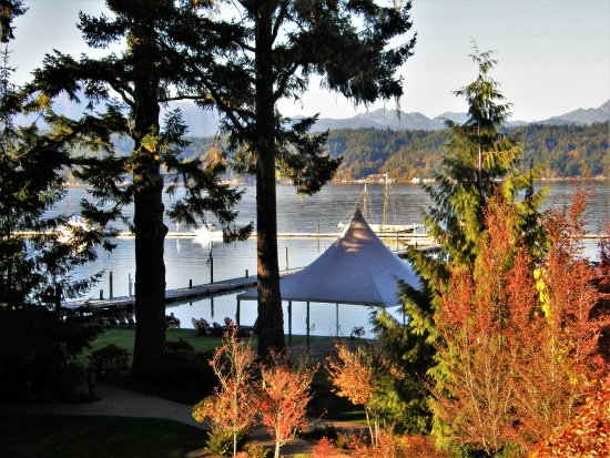 Union, WA: View of Hood Canal from my private balcony