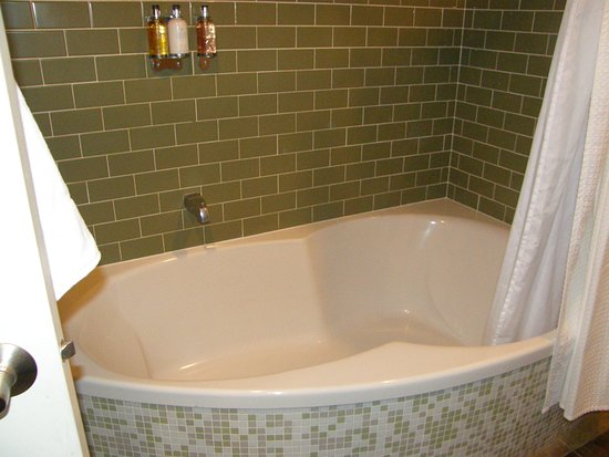 Union, WA: Large spa tub in the room. This was great for soaking and reading a book