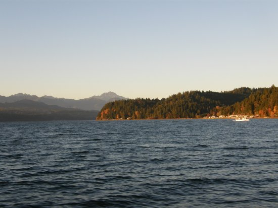 Union, WA: Hood Canal on the cruise