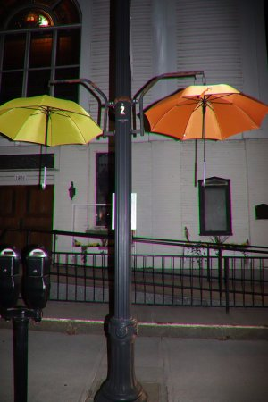 Littleton, Nueva Hampshire: Attractive umbrellas!