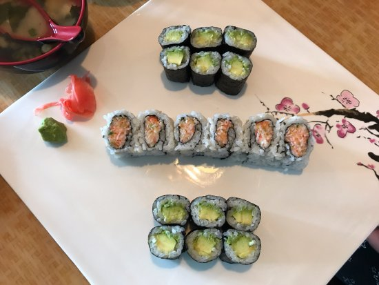 Marshfield, WI: Sushi Rolls