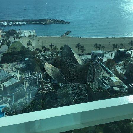 Hotel Arts Barcelona: Gorgeous sea views