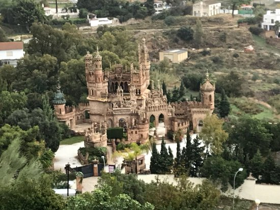 Castillo de Colomares: Magnifique !!