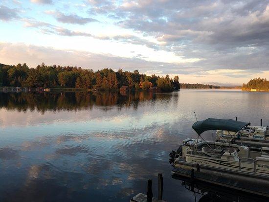 Saranac Lake, NY: Our beautiful marina