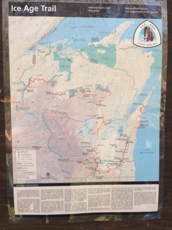 Lodi, Ουισκόνσιν: Ice Age national scenic trail in WI