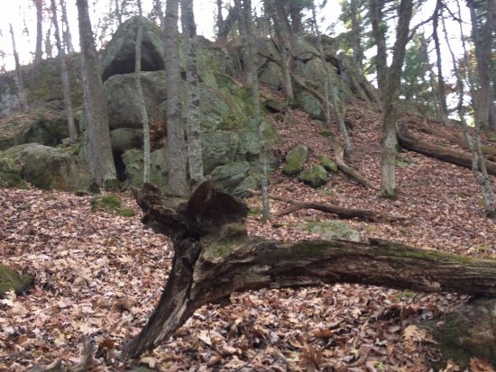 Lodi, WI: Ancient rock outcropping