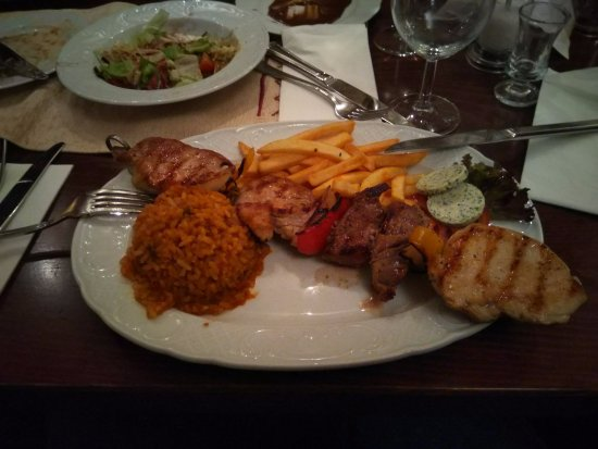 Garching bei Munchen, Germany: meat platter