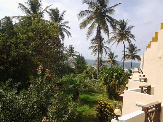 Kombo Beach Hotel: Parveke näkymä meren suuntaan