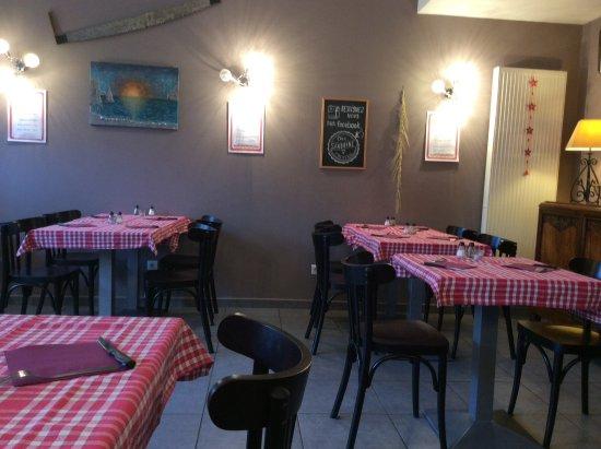 Groix, France: Salle à déjeuner