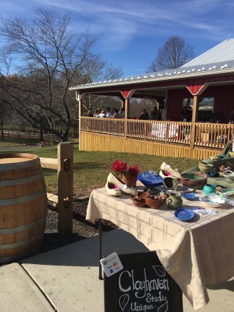 Brandywine, MD: What was once a tobacco farm has now repurposed itself into a winery.