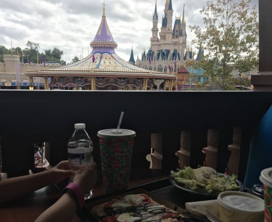 Pinocchio Village Haus: Lunch with a view