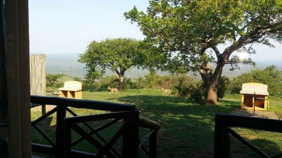 Hluhluwe Game Reserve, South Africa: Stoep View