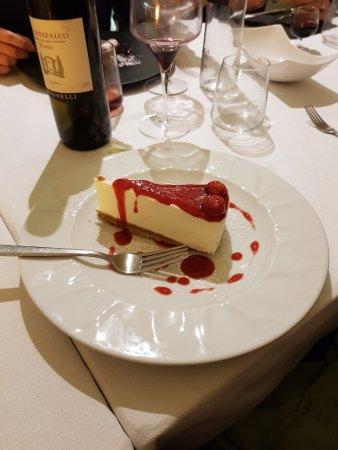 Бастия-Умбра, Италия: Cheesecake