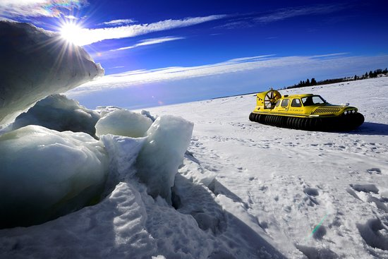 Sea Ice Snow-mobiling