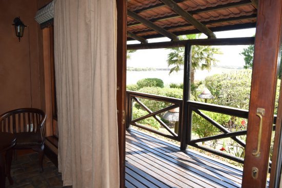 Waterside Lodge B&B, Wilderness: Sunbird suite verandah