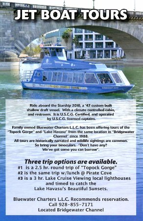 Lake Havasu City, AZ: Jet Boat Tours